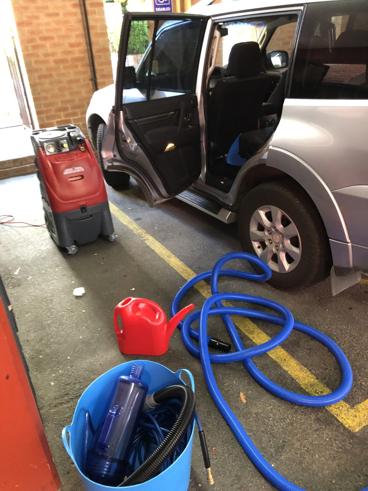 Car Seat Steam Cleaning Perth