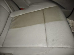 Leather Cleaning car