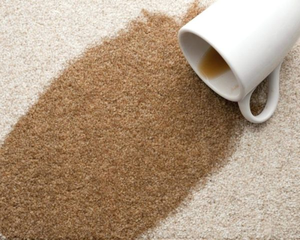 Carpet Coffee Stain Cleaning