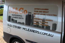 Carpet Cleaning Silver Van
