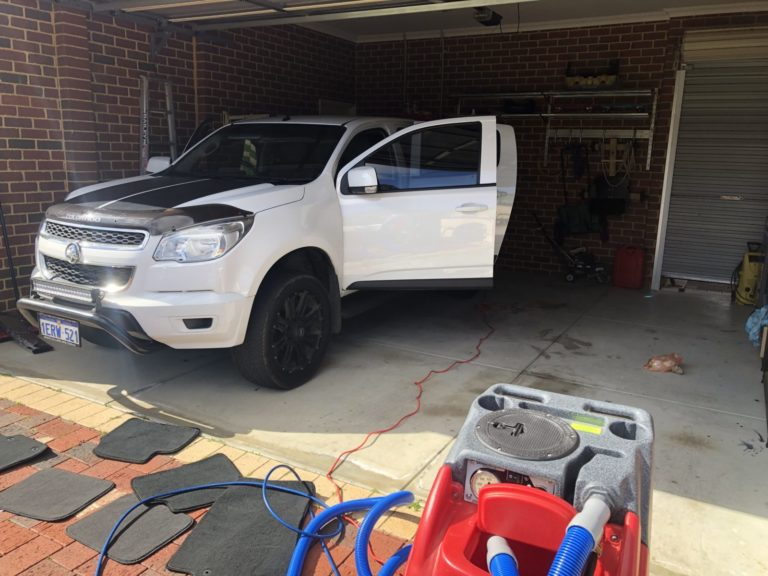 Partial Vehicle Ute Detailing