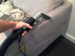 Upholstery water extraction cleaning Melbourne