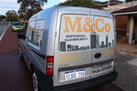 M&Co sofa deep steam cleaning Melbourne