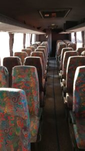 Upholstery Seat Bus Cleaning