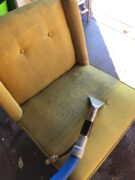 Upholstery being cleaned Perthh